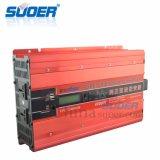 Suoer 4000W 24V 220V 50Hz DC AC 사인 파동 변환장치 (FPC-D4000B)