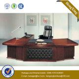 純木の光沢のある執行部の机の標準的なオフィス用家具(HX-RD6073)