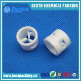 Anel Pall PTFE 20mmx2mmx16mm para sistema de corrosão extremas