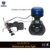 2018 neuer Desigen Motorrad-Sirene-Lautsprecher mit Röhrenblitz-Licht für Polizei-MotorradBuilt-in Srien