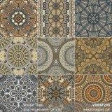 La construcción de matéria patrón de flores para la decoración rústica (VRR6F201, 600x600mm)