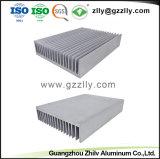 Dissipatore di calore di alluminio multifunzionale dell'espulsione del materiale da costruzione con l'anodizzazione