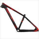15,5 pulgadas de 16,5 pulgadas de 17,5 pulgadas 26er 27,5er Carbon T800 El bastidor de bicicleta de montaña