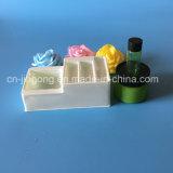 Het Dienblad van de Blaar van pvc van Clourful voor het Vastgestelde Dienblad van de Blaar van pvc Cosmestic Plastic