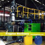 Automatische 80 Liter Plastiktrommel-Strangpresßling-Blasformen-Maschinen-