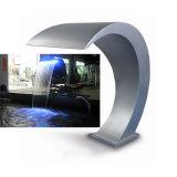 Mini fuente artificial de la cascada del acero inoxidable con la luz del LED para la cascada del BALNEARIO de la charca