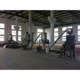 PE-WPC rallar la línea de producción de la máquina