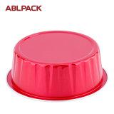 Abrigos redondos coloridos de gama alta de la hornada de la torta del mollete del papel de aluminio