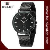 Belbi simple en acier ultra léger mouvement à quartz d'affaires Lady Watch