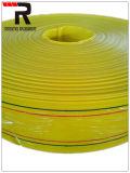 PVC 특별한 고강도 Layfiat 호스 배출관 펌프에 의하여 놓이는 편평한 관개