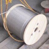 1X19 19X7 Kabel 316 van de Draad van het Roestvrij staal Mariene Kabel