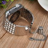 Aço inoxidável pulseira antiestática para Apple Assista bracelete de banda