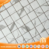 Azulejo de mosaico de cristal Acoplamiento-Montado subterráneo de Calacatta Blanco (V671001)
