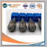 Hartmetall-zahnmedizinische Grate für CNC-Bergbau-Hilfsmittel