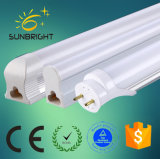 Iluminación impermeable al por mayor T5 T8 18W Tubo Fluorescente LED de vidrio