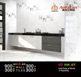 300x900mm interior acristalado moderna cocina azulejos de cerámica (NF3903-1)