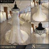 花嫁刺繍された技術および標準的な様式の婚礼衣裳