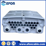 Коробка распределения напольного кабеля сердечников FTTH 16 для держателя Поляк и держателя стены