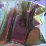 Polvo del pigmento del polaco del gel de la perla del espejo del cromo del camaleón