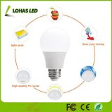 3W 5W 6W 9W 12W 15W E27 B22 Lâmpada LED de poupança de energia
