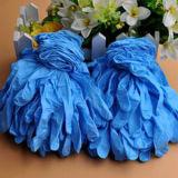 Одноразовые нитриловые перчатки безопасности