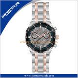 Montre-bracelet royale de Special de bande d'acier inoxydable de cadran de Meteorolit