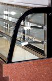 商業レストランまたは喫茶店(SCLG4-580FH)の冷却装置によって曲げられるショーケース