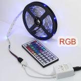 Ce/RoHS RVB étanche IP22-IP68 bande de lumière LED SMD5050 LED Flexible