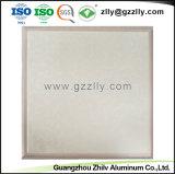 Haut satinée ménage plafond suspendu décoratifs en aluminium avec la norme ISO9001