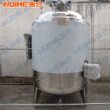 Réservoir de mélange d'acier inoxydable de la Chine avec la jupe