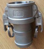Het Roestvrij staal van de C/de Koppeling van Camlock van het Brons/van het Messing/van het Aluminium
