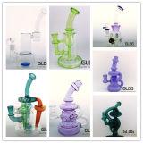 Conduite d'eau de fumage en verre de Handblown de Borosilicate de qualité avec le prix usine