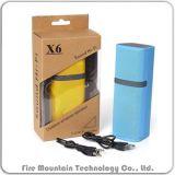 X6 Multifunctionele Spreker Bluetooth met TF Kaart voor Auto