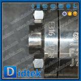 Gas della valvola a sfera di galleggiamento di Didtek con il manuale