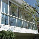 Guichet en verre en aluminium de tissu pour rideaux d'isolation thermique