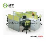 모듈 워크 스테이션 사무용 가구 직원 책상 Yf-G1402