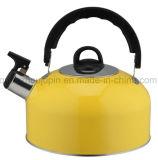 OEMのステンレス鋼の笛を吹く茶水やかん