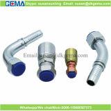 Instalaciones de tuberías de una pieza de Parker del manguito hidráulico chino de la fábrica
