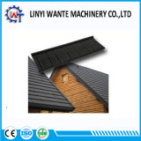 Easy installation Galvanized Steel Stone Coated Metal Roof Tile Wood type