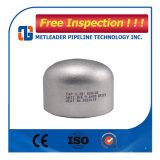 Casquillos de extremo inconsútiles estándar del tubo del acero inoxidable de la soldadura a tope de ASTM A403