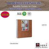 Placa de MFC do estilo moderno mobiliário de escritório de madeira armário de arquivos