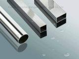 201 304 ha saldato il tubo del quadrato dell'acciaio inossidabile, tubo rettangolare