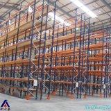Cremagliera resistente del pallet del magazzino di colore di Blue&Orange, racking stretto del pallet della navata laterale per il magazzino