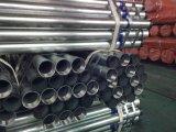 Feux de tuyaux en acier galvanisé à chaud BS1387 filetage fin