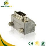 HDMI portable varón del VGA del convertidor de 90 grados al adaptador femenino