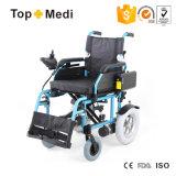 Sedia a rotelle di alluminio di energia elettrica di Topmedi del fornitore della Cina