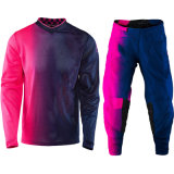 Фиолетовый Custom Racing костюм Mx шестерни Motocross одежды (AGS06)