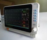Heißes -10.4 Parameter-Patienten-Überwachungsgerät des Zoll-sechs mit rückseitigem Standplatz