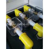 Trois cuvettes d'huile isolante d'équipement de test de tension claque