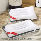 100% algodón de la salud Protección de la almohada de Brocade vértebra cervical almohada Fabricante de ventas directas.